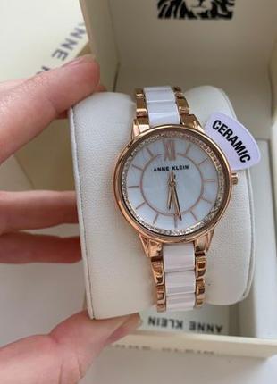 Женские часы Anne Klein AK-3344WTRG (Керамика)
