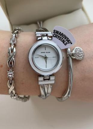 Женские часы Anne Klein AK-3576WTST