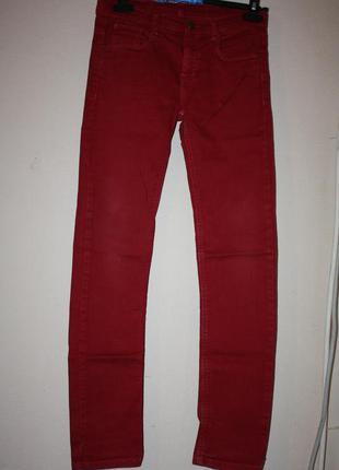 Стильные, модные  джинсы ф.zara р-158/164  идеальное состояние