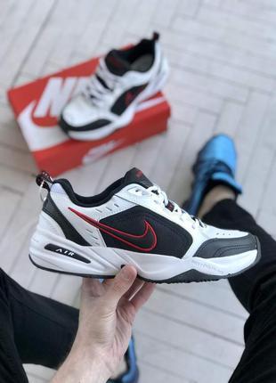 Nike air monarch iv white black ♦ мужские кроссовки ♦ весна ле...