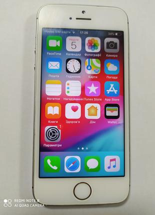 Смартфон iPhone 5s gold 32gb Neverlock
