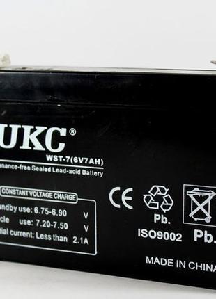 Аккумулятор 6V 4А, 7A, 10A, 12A для детского электромобиля,вес...