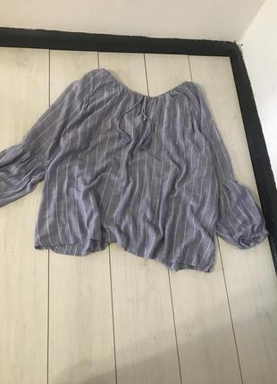 Летняя блуза большого размера