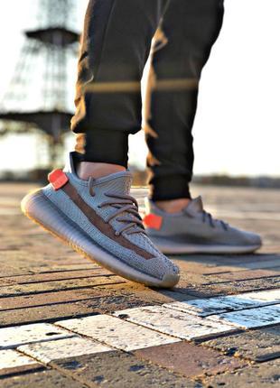 Adidas yeezy boost 350 grey orange