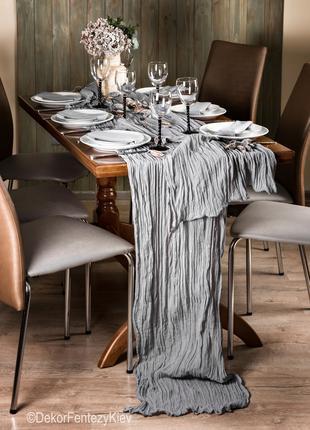 Скатерть на стол набором с сервировочными салфетками