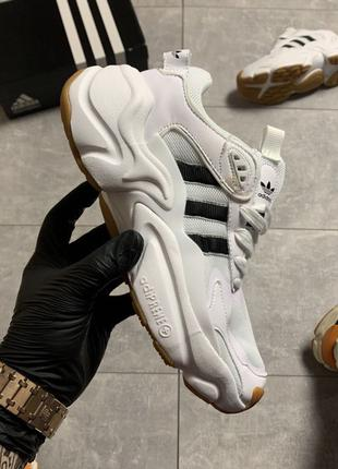 Adidas Magmur Runner White Black.