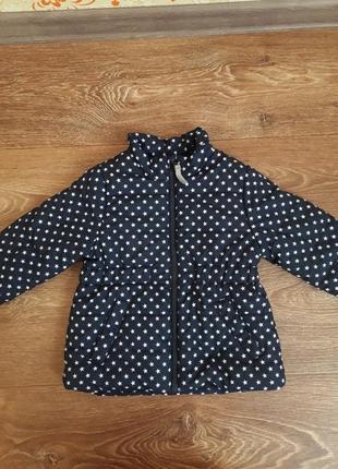 Курточка детская для девочки  topomini