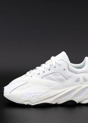 💖💖💖adidas yeezy boost 700 white black💖💖💖женские кроссовки адид...