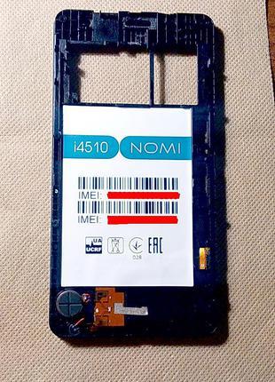 Панель дисплейного модуля в сборе NOMI i4510