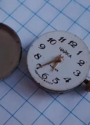 Механизм часов Чайка. Рабочий
