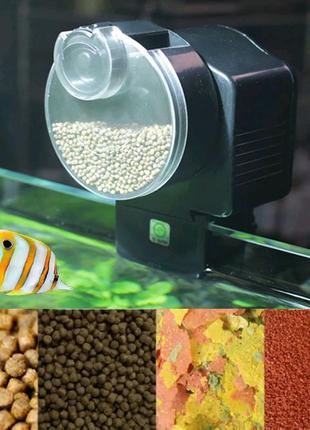 Автоматична годівниця для акваріума, автокормушка для аквариума.