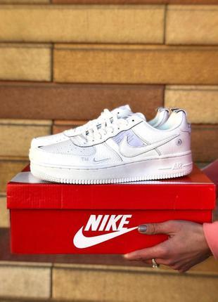 Мужские кроссовки nike air force 1 white 😍