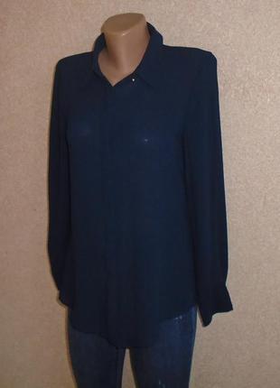 Шифоновая рубашка\блуза\шифонова сорочка\блуза