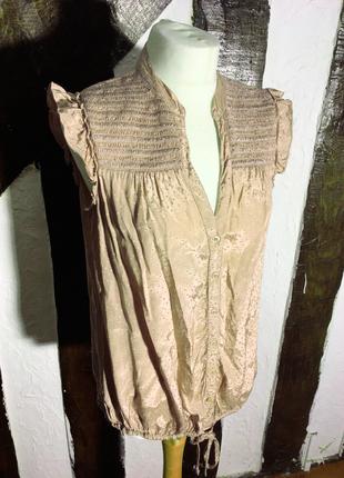 Женственная блузочка, вискоза, в романтическом стиле, бренда r...