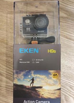 Экшн камера Eken H9S оригинал, подводный бокс, 1080p 60FPS, ac...