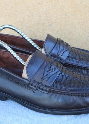 Лоферы easy street кожа германия 42р туфли мокасины