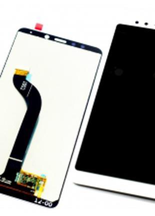 Дисплей для Xiaomi Redmi 5 белый, с тачскрином