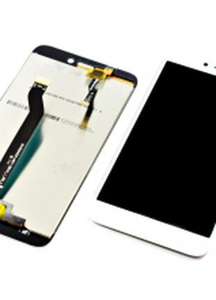 Дисплей для Xiaomi Redmi 5A белый, с тачскрином