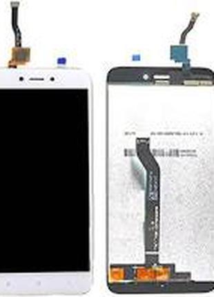 Дисплей для Xiaomi Redmi 5A белый, с тачскрином (PRC)