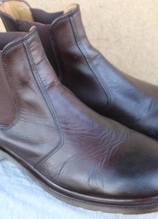 Ботинки dr. martens кожа оригинал 46р челси