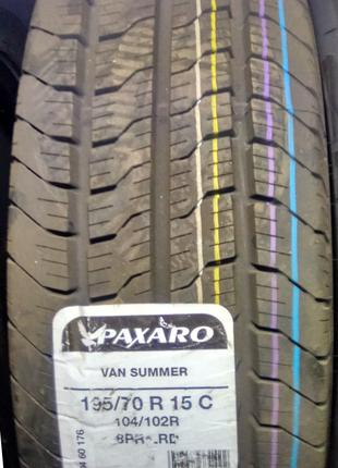 195/70 R15C 104/102 R Paxaro Summer Van
