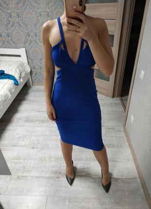 Вечернее новое с биркой шикарное платье миди