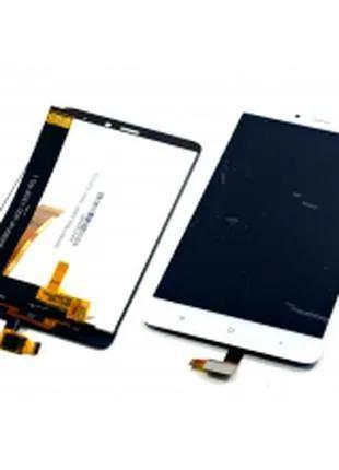 Дисплей для Xiaomi Redmi Note 4 белый, с тачскрином