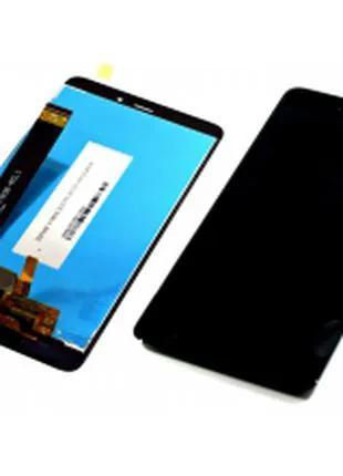 Дисплей для Xiaomi Redmi Note 4 черный, с тачскрином