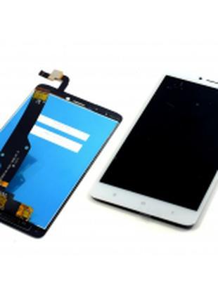Дисплей для Xiaomi Redmi Note 4X белый, с тачскрином