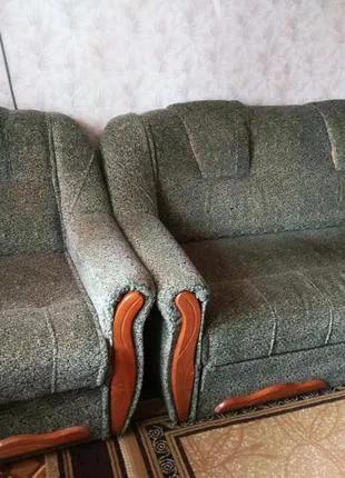 Диван раскладной и кресло-кровать