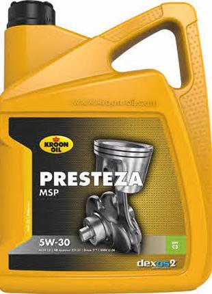 Масло моторное Kroon Oil Presteza Msp 5W-30, 5 л