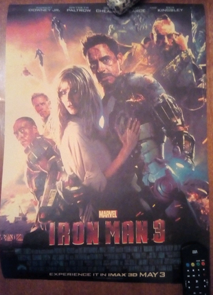 Постер Iron Man 3