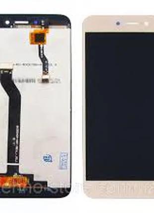 Дисплей для Xiaomi Redmi Note 5A золотистый, с тачскрином (2/16Gb