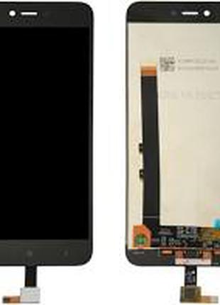 Дисплей для Xiaomi Redmi Note 5A черный, с тачскрином (2/16Gb)
