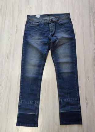 Распродажа до 10 апреля!!!🔥 синие мужские джинсы с потёртостями
