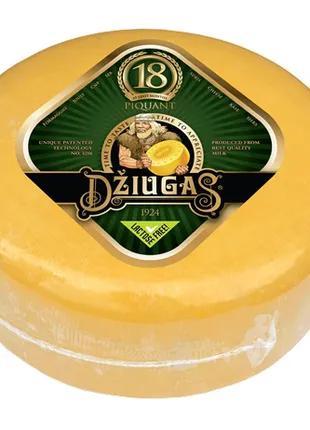 "Сир твердий ""Джюгас"" 40% Piquant, 18міс."