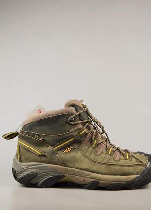Мужские ботинки keen gore-tex, р 45