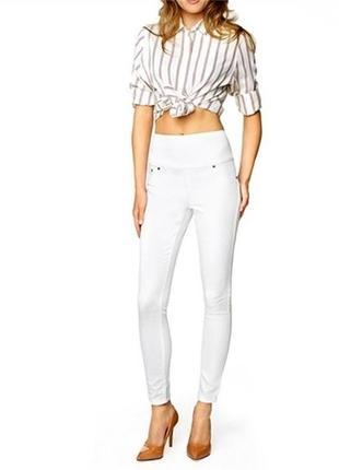 Женские штаны (джегинсы) белые xs