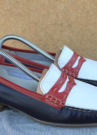 Новые туфли ara кожа германия 37р мокасины