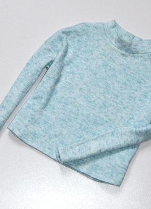 Свитер укороченный фасон,красивого голубого цвета