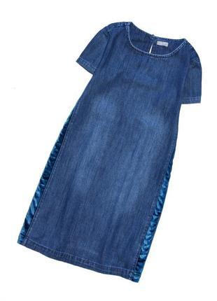 Next. коллекция 2018 года стильное джинсовое платье . 10 лет. ...