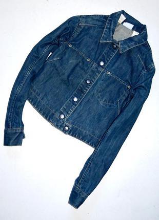 Стильная джинсовая куртка,олдскул,свободный крой