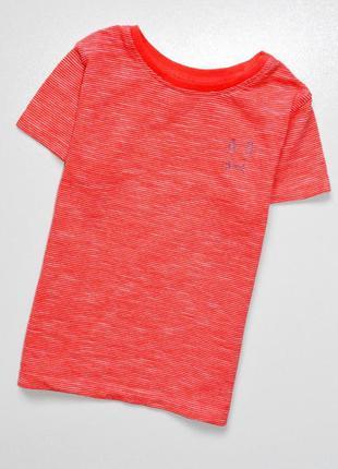 Next. красная меланжевая футболка с эмблемой зайца.. 18-24 мес...