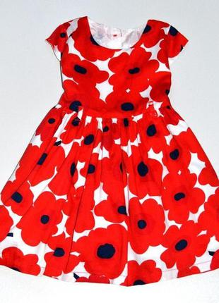 Matalan   яркое нарядное платье  на 2-3 года.