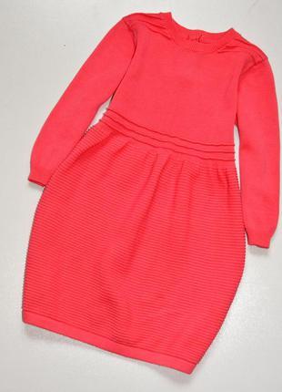 Matalan. прекрасное розовое трикотажное платье. 2-3 года.