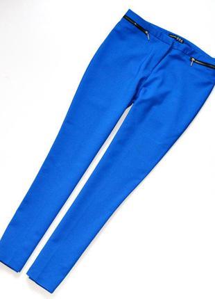 Шикарные брюки,красивенного синего цвета