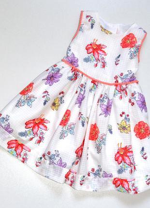 Matalan. красивое шифоновое платье на хлопковом подкладе. 18-2...