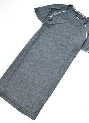Отличная ночная рубашка темно-серого цвета