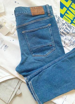 Мужские джинсы скинни tommy hilfiger