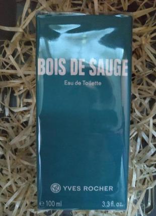 Туалетная вода 100 мл bois de sauge шалфей ив роше yves rocher